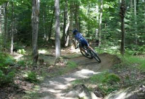 vélo de montagne Parc régional