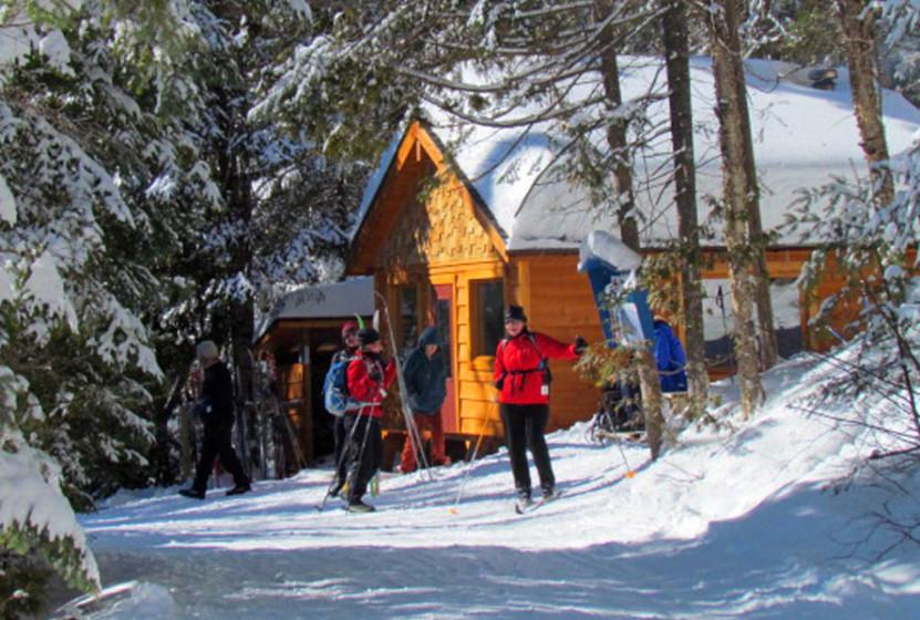 Refuge ski de fond Parc régional