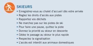 code d'éthique ski de fond